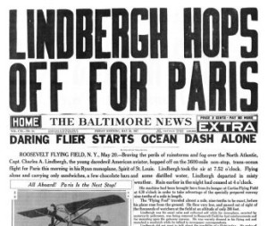 the-baltimore-news-may-20-1927-lindbergh-hops-off-for-paris-e1363634611720